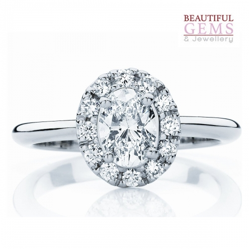 .75ct Oval Diamond
