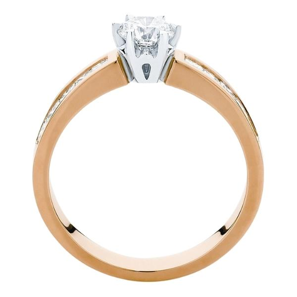 Solitaire Engagement Ring with a 2.00 Carat Centre (TDW TBA) Diamond in 10ct Yellow – 104203003