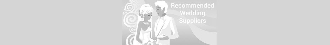 Recommended Wedding Suppliers List