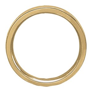 Wedding Band 4mm in 10ct Yellow Gold-183JPD607