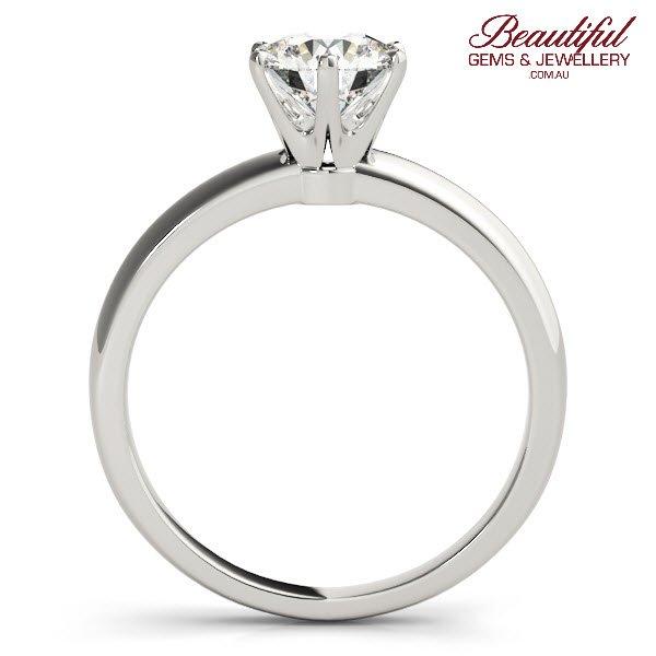 tiffany style 1ct diamond ring