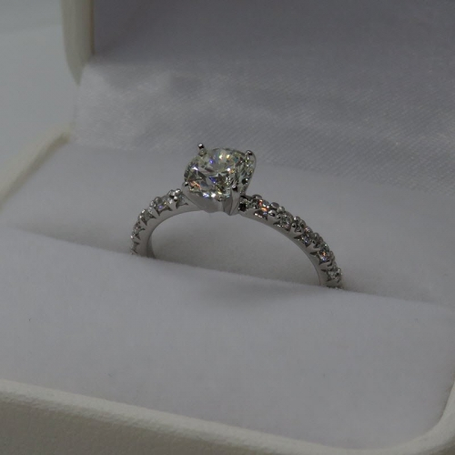 vintage solitaire 1ct diamond ring Australian