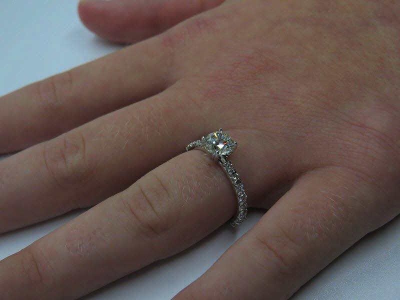 vintage solitaire 1ct diamond ring Australian