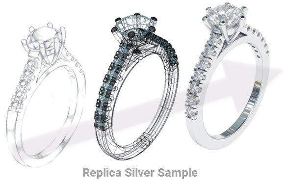 1ct diamond replica manufactured in Australia
