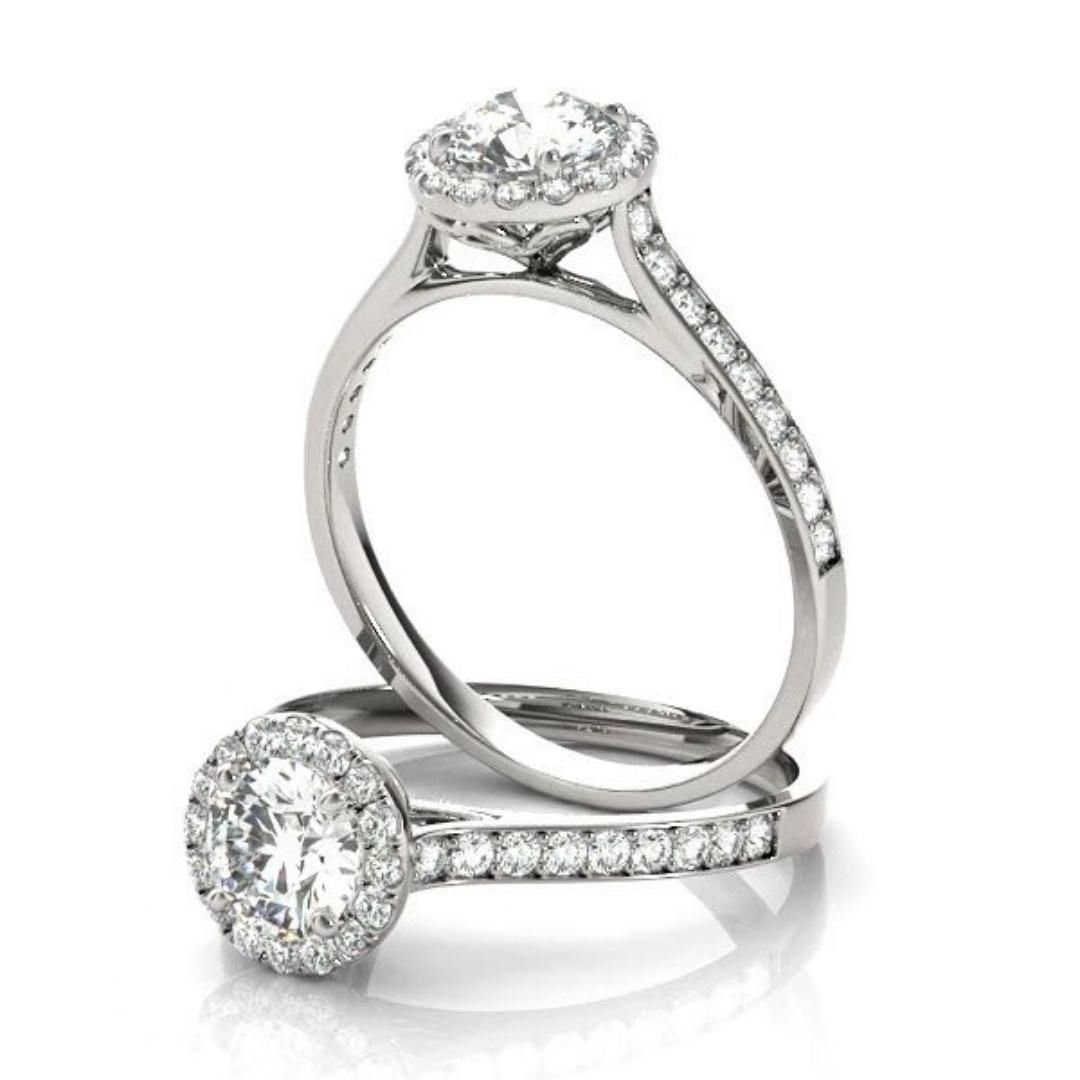 1ct Diamond Engagement Ring