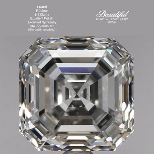 GIA Certified 1 Carat Diamond F-Colour SI1-Clarity-GIA 7293606331