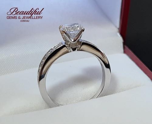 GIA Certified 1 Carat Diamond Engagement Ring -6-800w