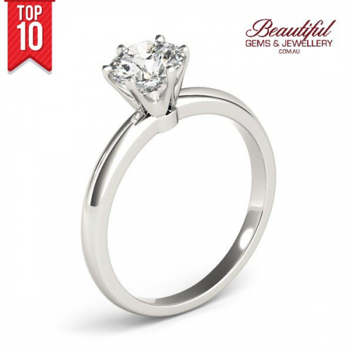 1-Carat-Solitaire-Diamond-Ring-Tiffany-Style-18ct-White-Gold