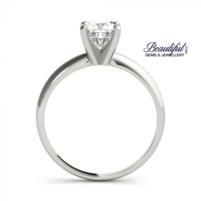 2ct Tiffany Setting Engagement Ring in Planinum-d