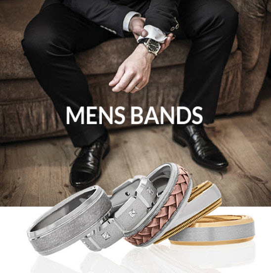 Mens Wedding Band Collection
