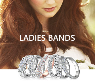 ladies wedding bands