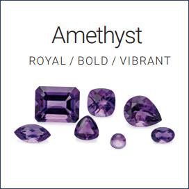 Loose Amethyst Gemstones (GIA Certified)
