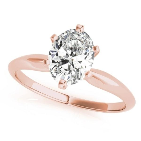 4_Carat_Diamond_Oval_Solitaire_Engagement_Ring_Rose_Gold_1