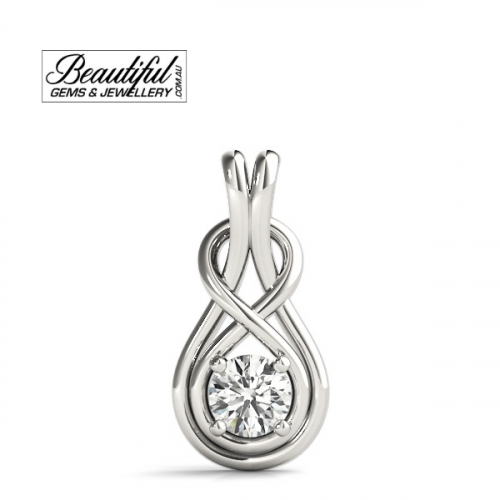 0.5-Carat-Diamond-Pendant-Love-Knot-18K-White-Gold-2