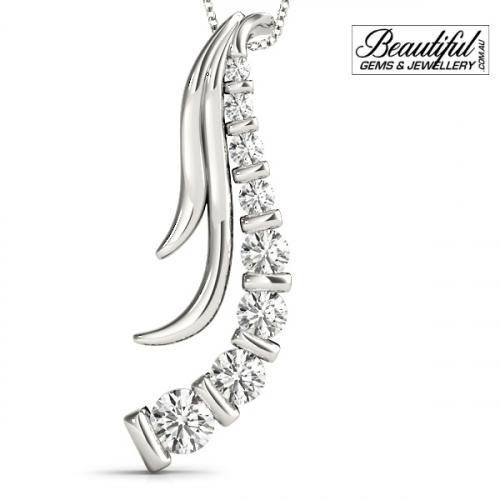 1-Carat-Diamond-Pendant-Feather-Burst-18K-White-Gold-1