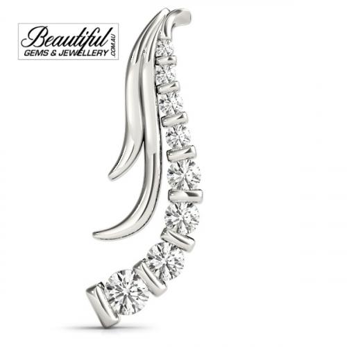 1-Carat-Diamond-Pendant-Feather-Burst-18K-White-Gold-2