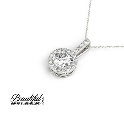 1-Carat-Diamond-Pendant-Halo-Pave-Set-18K-White-Gold-2