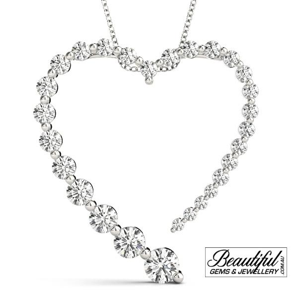 1-Carat-Diamond-Pendant-Love-Heart-18K-White-Gold-1