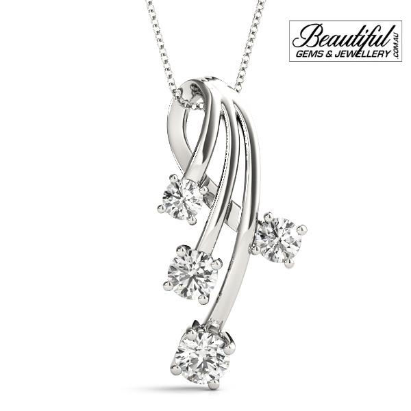 1-Carat-Diamond-Pendant-Star-Burst-18K-White-Gold-1