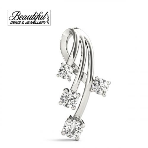 1-Carat-Diamond-Pendant-Star-Burst-18K-White-Gold-2