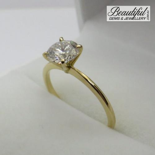 1-Carat-Diamond-Ring-Tiffany-Style-in-Yellow-Gold-6