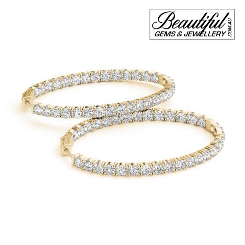 1-Carat-Hoop-Earrings-Pave-Diamonds-Yellow-Gold-1