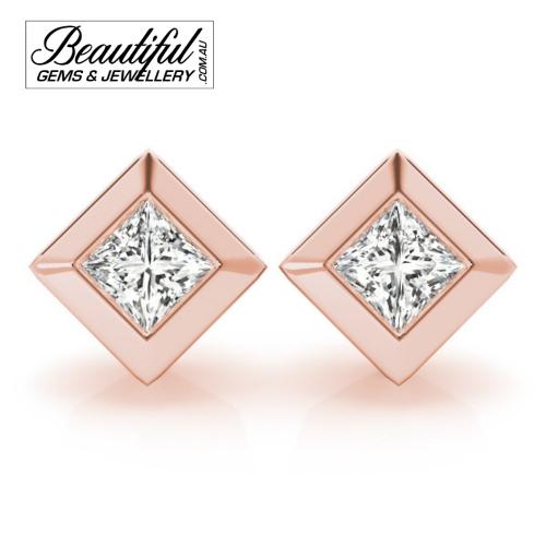 1_Carat_Diamond_Stud_Earrings_Round_Brilliant_Full_Wide_Bezel_Setting_in_18ct_Rose_Gold_1