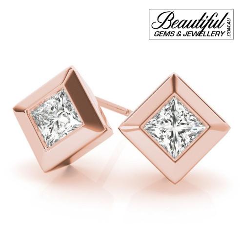 1_Carat_Diamond_Stud_Earrings_Round_Brilliant_Full_Wide_Bezel_Setting_in_18ct_Rose_Gold_2
