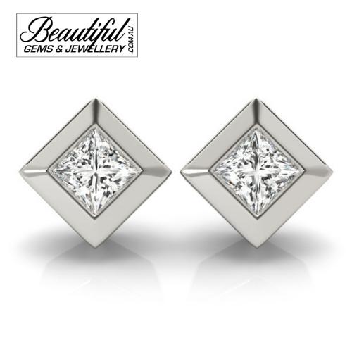1_Carat_Diamond_Stud_Earrings_Round_Brilliant_Full_Wide_Bezel_Setting_in_18ct_White_Gold_1