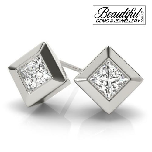1_Carat_Diamond_Stud_Earrings_Round_Brilliant_Full_Wide_Bezel_Setting_in_18ct_White_Gold_2