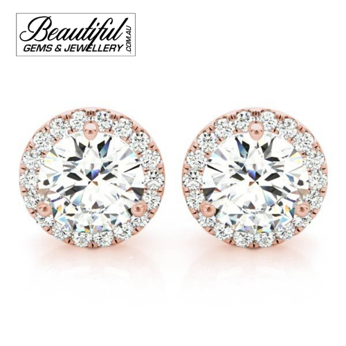 1_Carat_Halo_Diamond_Stud_Earrings_Round_Halo_Setting_in_18ct_Rose_Gold