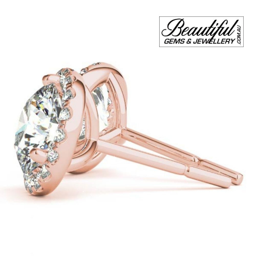 1_Carat_Halo_Diamond_Stud_Earrings_Round_Halo_Setting_in_18ct_Rose_Gold_1