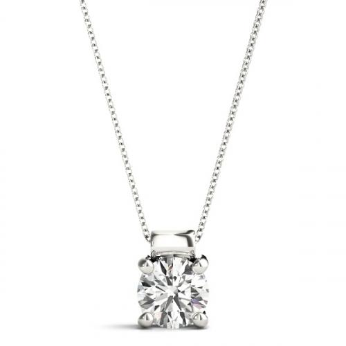 Laboratory-Created-1-Carat-Diamond-Pendant-18ct-White-Gold-1